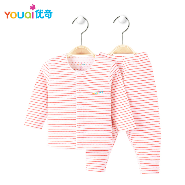 7234861e86c7 YOUQI Soft Cotton Unisex Baby Clothes Boys Baby Girls Clothing Set Toddler  infant Long Sleeve Spring Autumn Winter Baby Pajamas