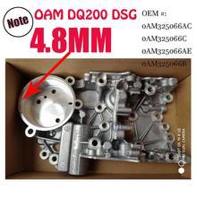 Утепленные 4,8 мм 0 DQ200 DSG Valvebody аккумулятор корпус Fit сиденье Audi Skoda Passat 0AM325066AC 0AM325066C 0AM325066R