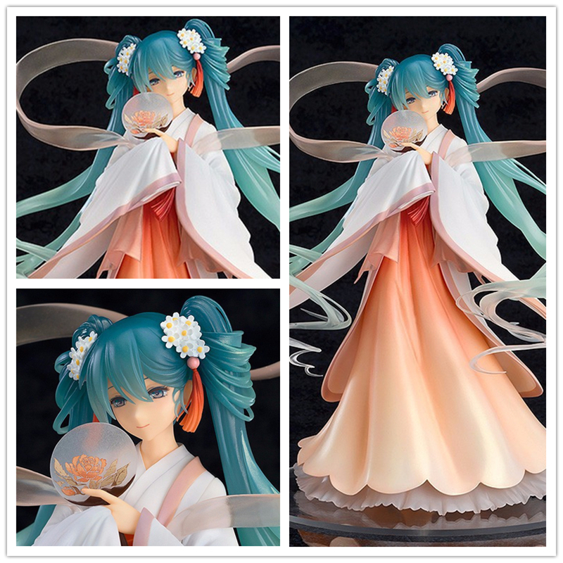 Anime Vocaloid Hatsune Miku Harvest Moon Ver. PVC Action Figure Collectible Model Toys Doll 22CM