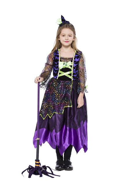 halloween costumes for children kids witch costume fancy fantasia infant witch cosplay for girl girls