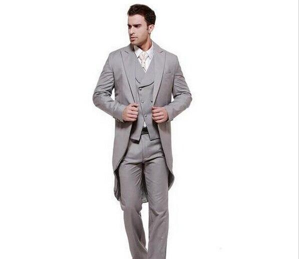 1f89db24bc86d Vendedora superior por encargo trajes vestidos de hombre moderno ocasión  formal trajes esmoquin hombres de piezas
