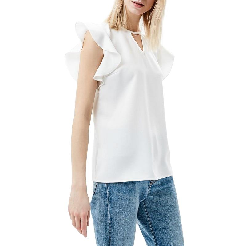 Blouses & Shirts MODIS M181W00624 woman blouse shirt blusas for female TmallFS женская футболка waqia 2015 t cueca blusas femininas 4