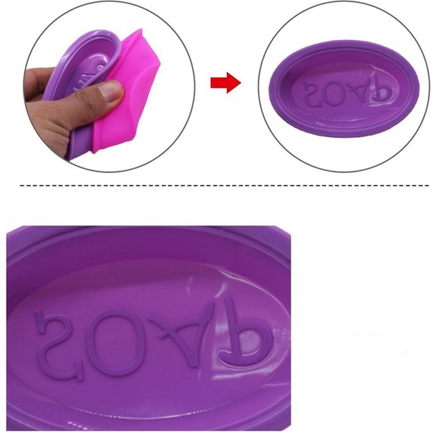 Oval Silicone Soap Mold