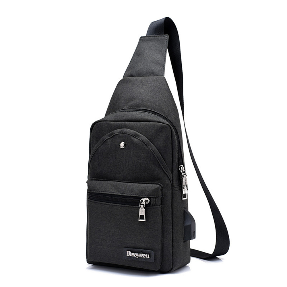 Tourism USB Charging Bag Fashion Street Couple Holiday Messenger Pack Novelty Cool Small Travel Bags Casual 2018 Hot Sale Bag