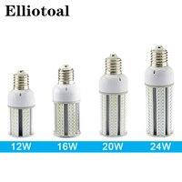 12pcs Lot E27 E40 LED Corn Light Bulb 12w 16w 20w 24w SMD2835 Street Light Pole