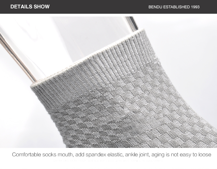 Bendu Brand Guarantee Men Bamboo Socks 10 Pairs / Lot Brethable Anti-Bacterial Deodorant High Quality Guarantee Man Sock