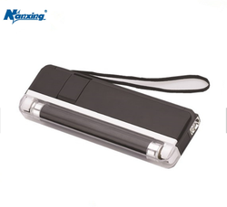 Handle Mini Currency Money Note Detector Counterfeit Fake Bill With Flashlight Pocket Bill Detector