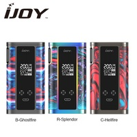 Newest!!! IJOY Captain Resin 200W TC MOD 2A Quick Charge Max 200W Ecig no 18650 Battery Vape Mod VS Drag 2/ IJOY Shogun/ LUXE