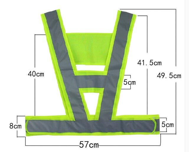 Бесплатная доставка $5,8/2 шт взрослых светоотражающий жилет трафика жилет высокая видимость проезжей части Рабочий жилет