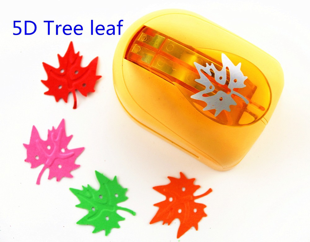Free shipping Super Large Size embossed device embossed Maple Leaf jef puncher Craft Scrapbooking flower Paper Puncher