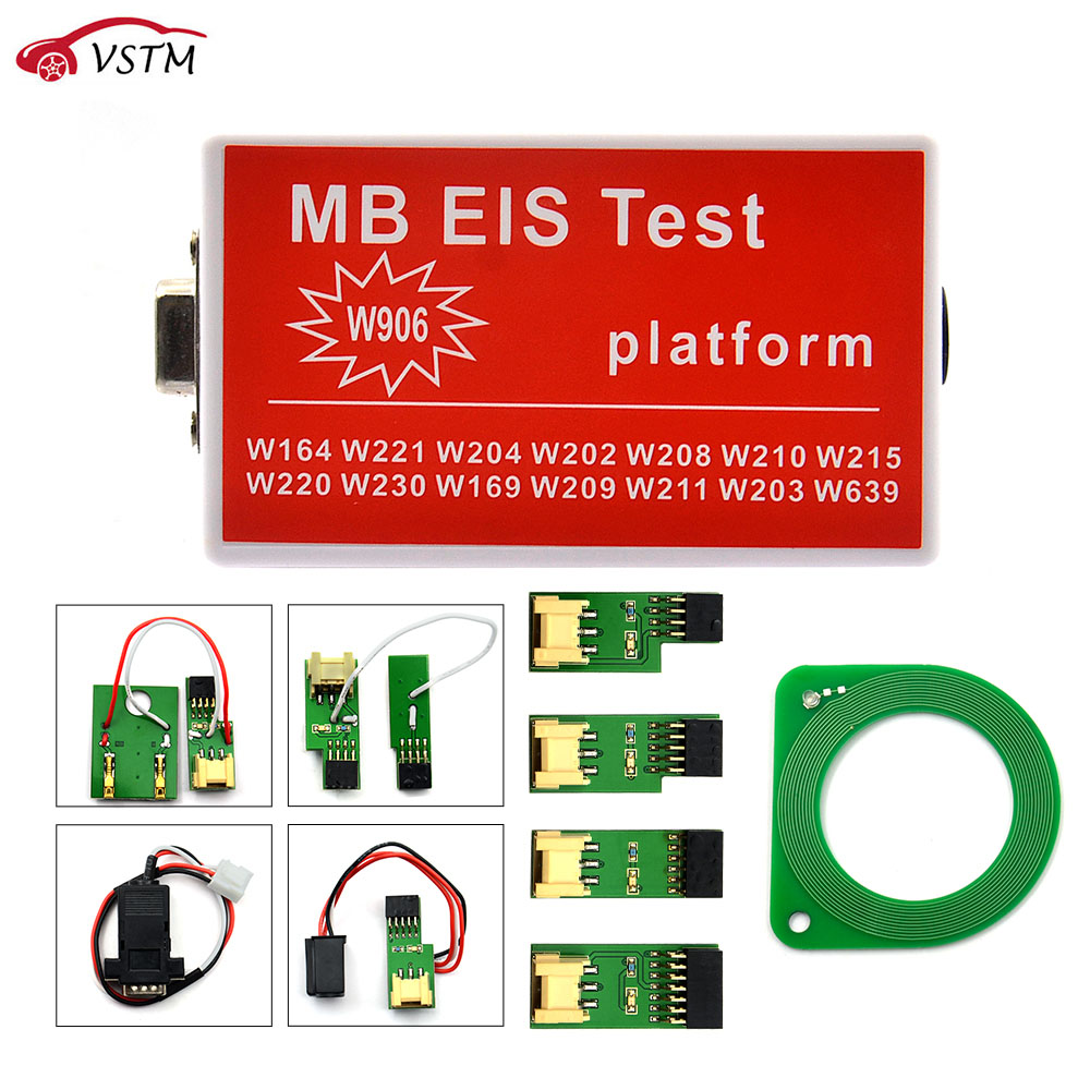 2018 free shipping For MB EIS W211 W164 W212 for MB EIS Test Platform for MB Auto Key Programmer For Benz-in Auto Key Programmers from Automobiles & Motorcycles    1
