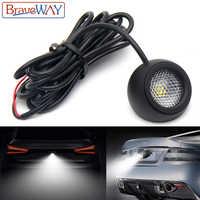 BraveWay LED Extra Reversing Light for Car SUV ATV Offroad Auxiliary Led Work Light 12V Fog Light Flood Beam LED Reverse Lights