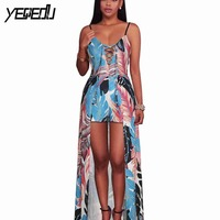 #1525 Bandage Playsuits For Women 2018 Sexy Printed Floral Body Mujer Catsuit Bodysuits Rompers Combinaison Short Femme