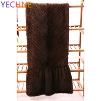 Mink Scarf Mink Wool Scarf Leather And Fur Around Mink Shawl Weave Woman Long Widen Korean Thickening Encryption Korean