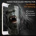 Nano Мягкая Пленка Экран Протектор Защитная, Чем Закаленного Стекла Для iPhone 7 6 6 s 5 5S 4S Плюс Samsung Galaxy S4 S5 S6 Note 3 4 5