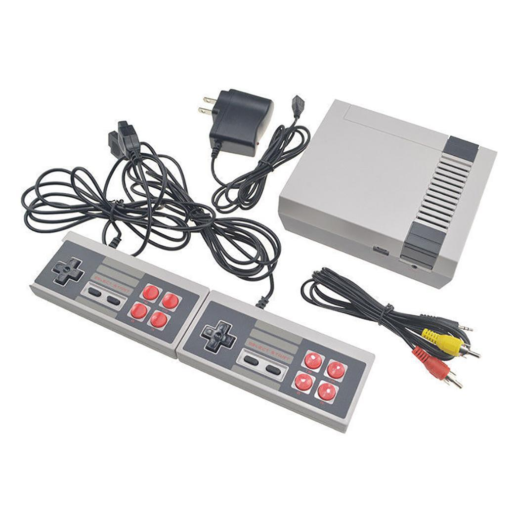 620 Games in 1 Classic Retro TV Gamepads Mini Game AV Output Console with ABS NTSC 2 Controllers Dual Wired