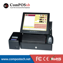 ComPOSxb 12 inch All in one POS System Touch Screen Computer monitor POS System PC For Supermarket receipt POS8812A