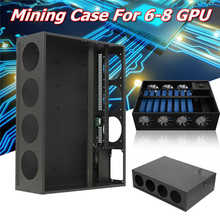 Aluminum Mining Frame Rig Case Crypto Coin Open Air For 6-8 GPU ETH/ZEC/Bitcoin