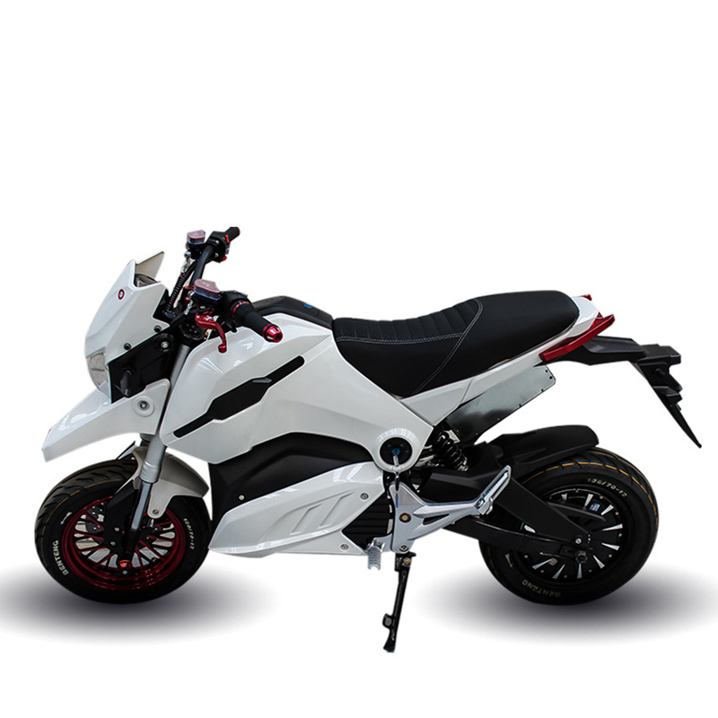 Adulte moto électrique vélo électrique motos électriques 72V20A 2000 W moteur USB port de charge véhicule électrique
