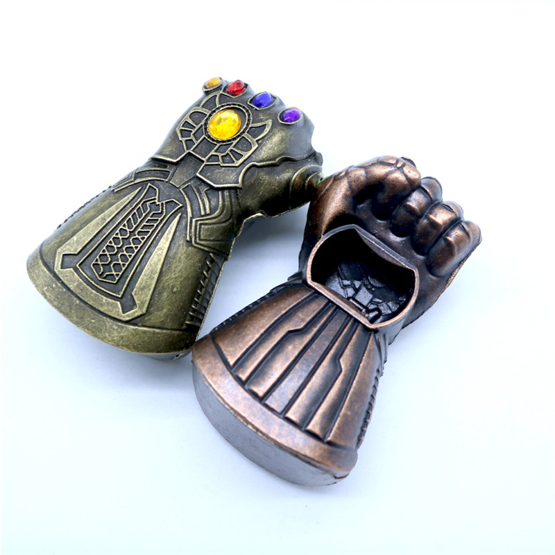 New Creative Thanos Gauntlet Glove Wine Beer Bottle Opener Soda Glass Caps Remover Tool Handsome Fist Opener Bar Tools Home Use in Openers from Home Garden