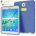 3 in 1 Slicon Case For Samsung Galaxy Tab S2 T710 T715 T719N 8.0 inch Shockproof Protective Skin cover for galaxy tab s2 shell
