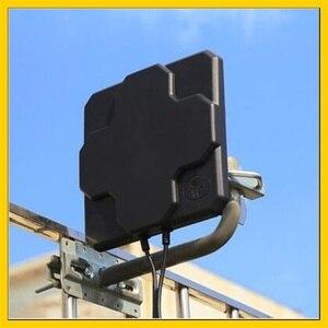 Image 1 - 2 * 22DBI 4G חיצוני אנטנת פנל LTE אווירי כיוונית MIMO חיצוני אנטנת N נקבה מחבר 10M כבל עבור 4g נתב