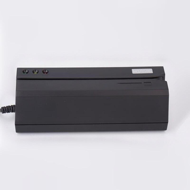MSR606 lecteur de carte magnétique/graveur encodeur glisser l'interface USB noir - 5