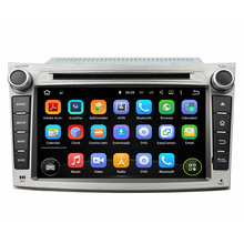 Android 5.1.1 Fit For Subaru Legacy Outback 2009 to 2012 Car DVD Player GPS Player 3G Radio ROM 16G Quad Core 1024*600