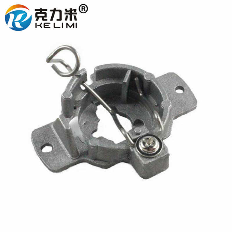 KE LI MI 2 Pieces For Mercedes-Benz 320 Bracket base H1 HID Bulbs adapters converter Xenon H1 Lamp retainers clips Aluminum