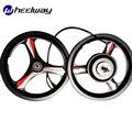 14 дюймов Магниевый сплав одно колесо переднее и заднее Мотор Ступицы велосипед электрический велосипед 36 В/48 в 240 Вт 3 Спицы высокая скорость