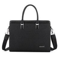 BERAGHINI 2018 Men Casual Briefcase Business Shoulder Bag Leather Messenger Bags Computer Handbag Bag Men's Travel Bags