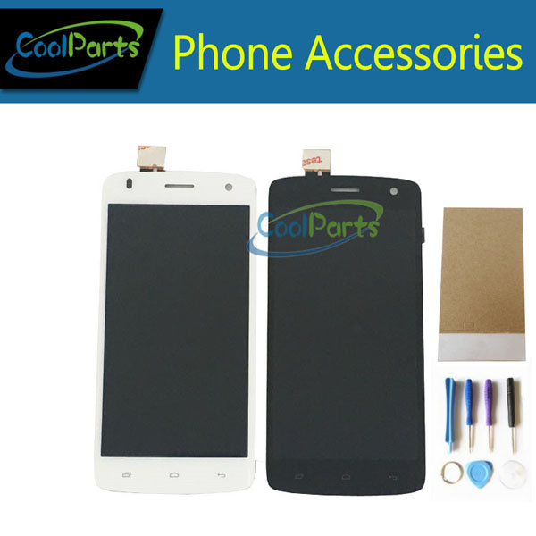 1PC/Lot High Quality For Fly Era Life 6 IQ4503 LCD Display+Touch Screen Digitizer Assembly Black&White Color With Tools&Tape