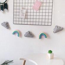 Felt Cloud Rainbow Wall Hanging Garlands String For Kids Room Decoration Ornament Pull Flower Pendant Nursery Decor Photo Props