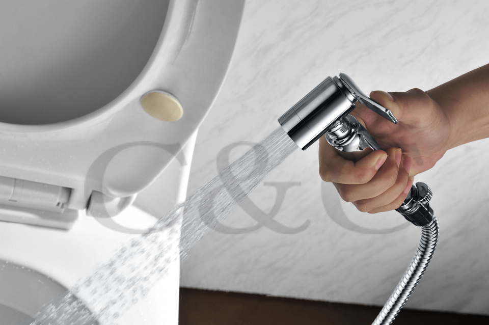 Мусульманских ручные shattaf hygience душ комплект биде спрей латунь пеленки опрыскиватель- A2007