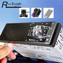 4012B 4.1 Дюймов Автомобиля MP5 Плеер 1 Дин Радио Мультимедиа Аудио видео Навигация Пульт Дистанционного Управления Поддержка SD USB с Камеры Заднего вида