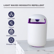 Binval USB Electronic LED Mosquito Killer Lamp Bug Zapper with Trap UV Light Photocatalyst Fly Dispeller for Indoor