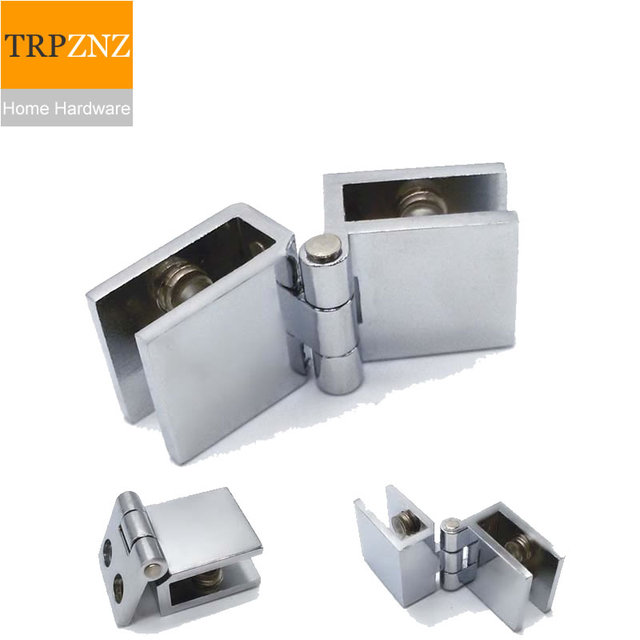 Cabinet Door Hinge Glass Clips Clampfor Showcase Wine Cooler