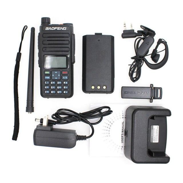 Baofeng Walkie Talkie 10KM BF-H6 VHF 136-174MHz UHF 400-520MHz Handheld Portable Ham Radio 10W Powerful Two Way Radio
