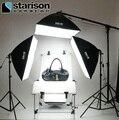Serie equipo fotográfico lámpara tetralogía softbox photo studio foto 4 softbox puesto de tiro photography luz conjunto CD50