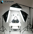 softbox photo studio photo  Series photographic equipment tetralogy lamp 4 softbox shooting station photography light set CD50