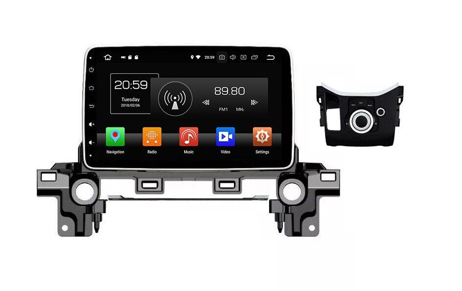 Navirider Android 8.0 radio tape recorder octa Core 4GB RAM 32GB rom IPS screen for Mazda CX 5 2017 1080P GPS headunit