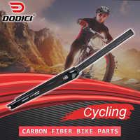 DODICI Pro-horquilla de bicicleta de carretera de fibra de carbono, alta calidad, frontal, 3k, brillante, 700C 1-1/8