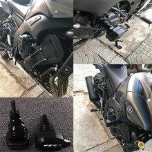 야마하 fz8 fz 8 FZ 8 오토바이 액세서리 떨어지는 보호 프레임 슬라이더 페어링 가드 안티 크래시 패드 수호자