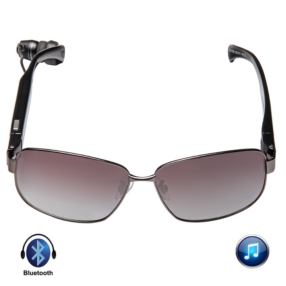 aliexpresscom buy 2015 new titanium metal frame bluetooth glass tr 90 memory polymer materials sunglasses bluetooth headset headphone sun glasses from