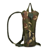 3L Tactical Hydration Backpack Packs Water Bag Bladder Bottle Pouch Hunting Climbing Running Cycling Camping Drinking Pouch ZH