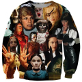 New Men/Women Horror Movie Kill Bill/Carrie 3D Print Casual Sweatshirt S M L XL XXL 3XL 4XL 5XL