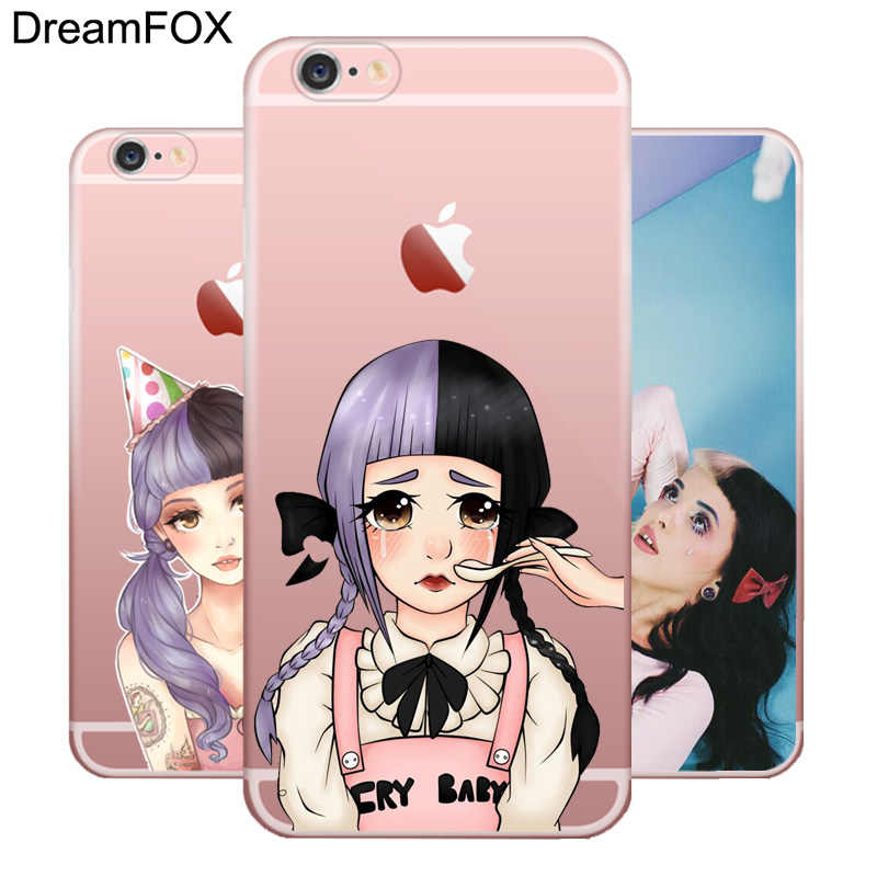 M542 Melanie Martinez TPU Silikon Case Penutup untuk Apple Iphone 11 Pro XR X MAX 8X7 6 6S PLUS 5 5S SE 5C 4 4S
