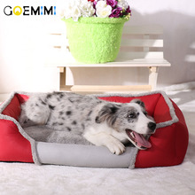 New Soft Dog Beds Warm Fleece Lounger Sofa for Small Dogs Large Golden Retriever Bed Husky Kennel Pet Products S to XL size