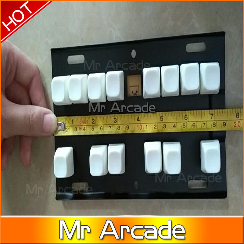1 pcs keyboard for fruit cocktail/fruit king/ mario WOLF 2 Game PCB for wolf 2/Casino/Slot Game Board for Arcade Game Machine