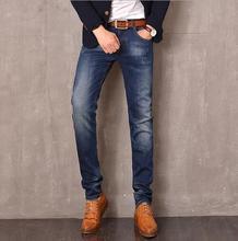 Новая Мода 2016 известный бренд мужчин джинсы Летом прямо свободные молодежные мужские джинсы брюки длинные брюки джинсы для мужчин